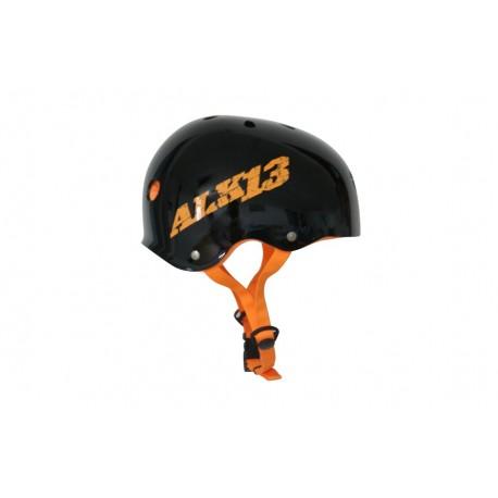 ALK13 Helmet H2O+  Black / Orange Logo
