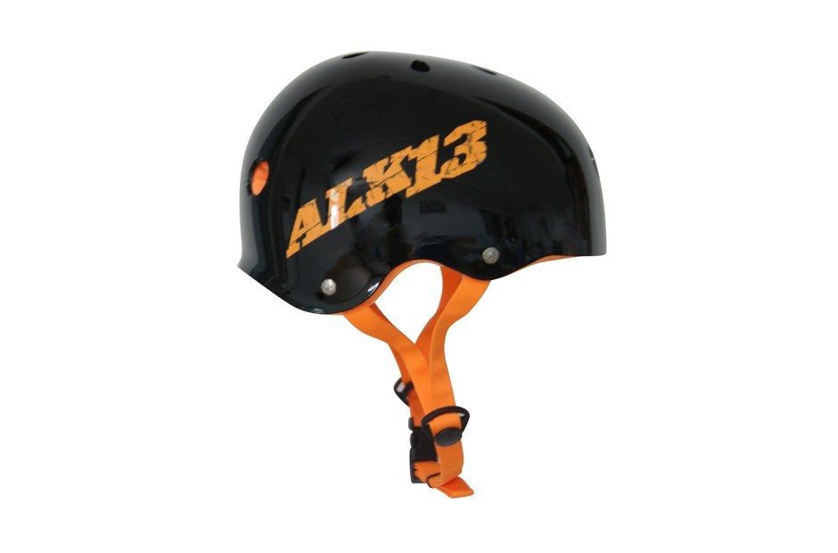 ALK13 Helmet H2O+  Black / Orange Logo