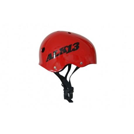 ALK13 Helmet H2O+  Red / Black Logo