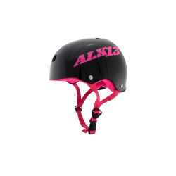 ALK13 Helmet H2O+ Black / Pink Logo