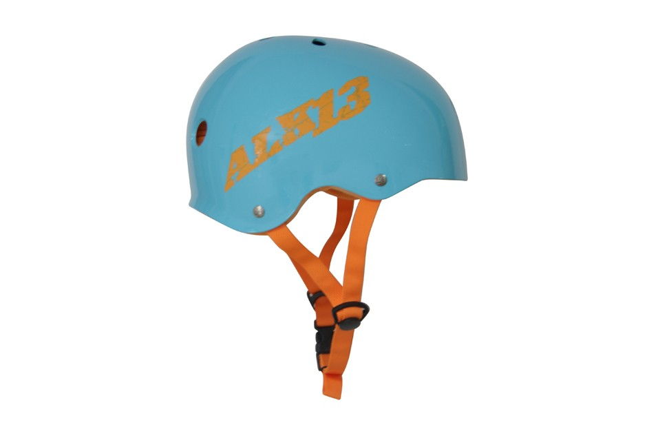 ALK13 Helmet H2O+  Blue / Orange Logo
