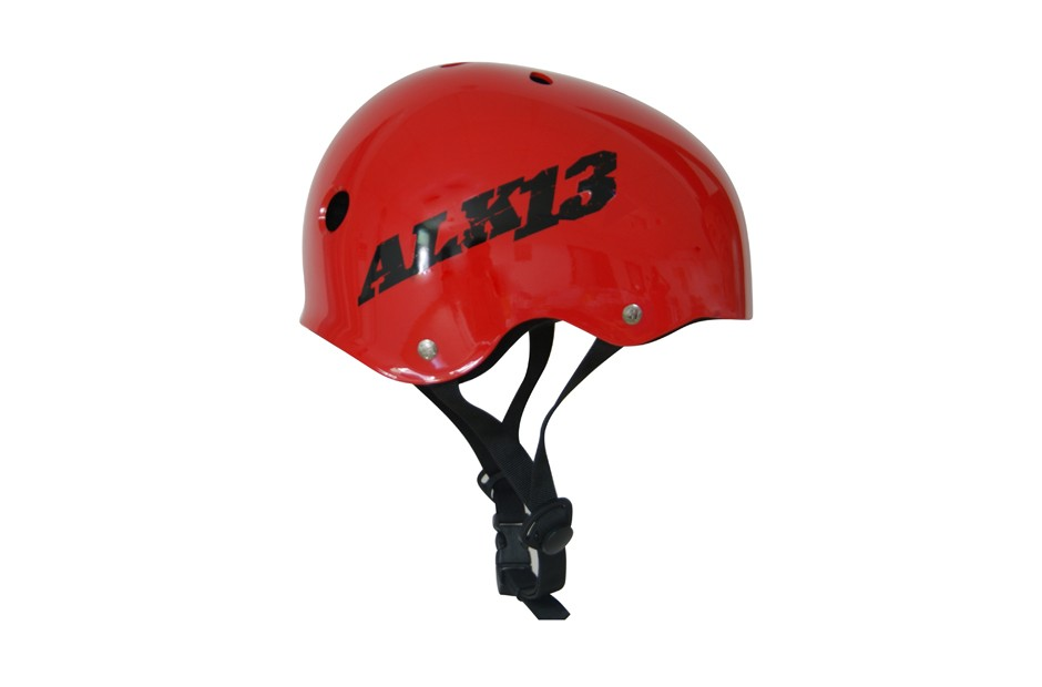 ALK13 Helmet H2O+  Red / Black Logo