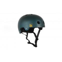 ALK13 Helmet Helium Blue Green Diesel Logo Yellow