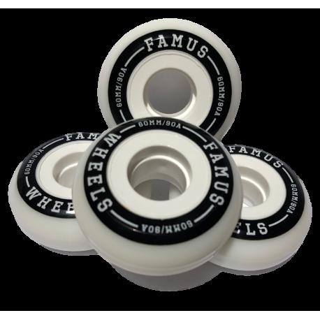 Famus Wheels 80mm/90a   aggressive