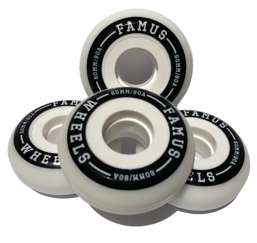Famus Wheels 60mm/90a   aggressive