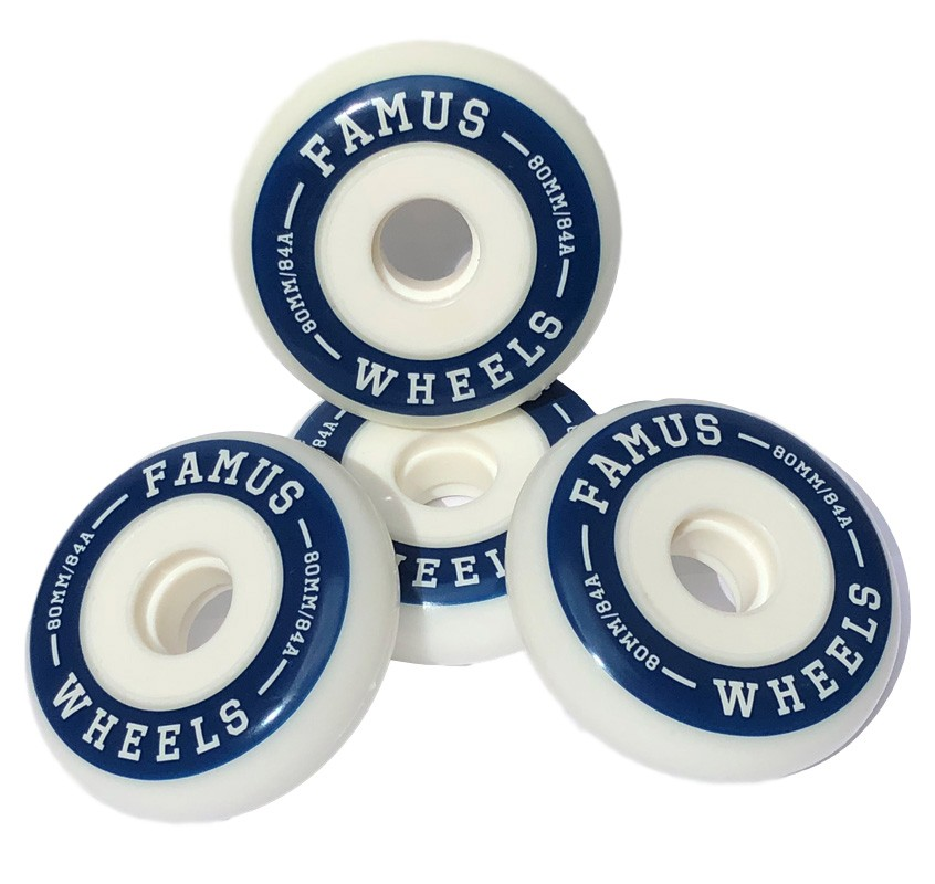 Famus Wheels 80mm/84 Freeride full core