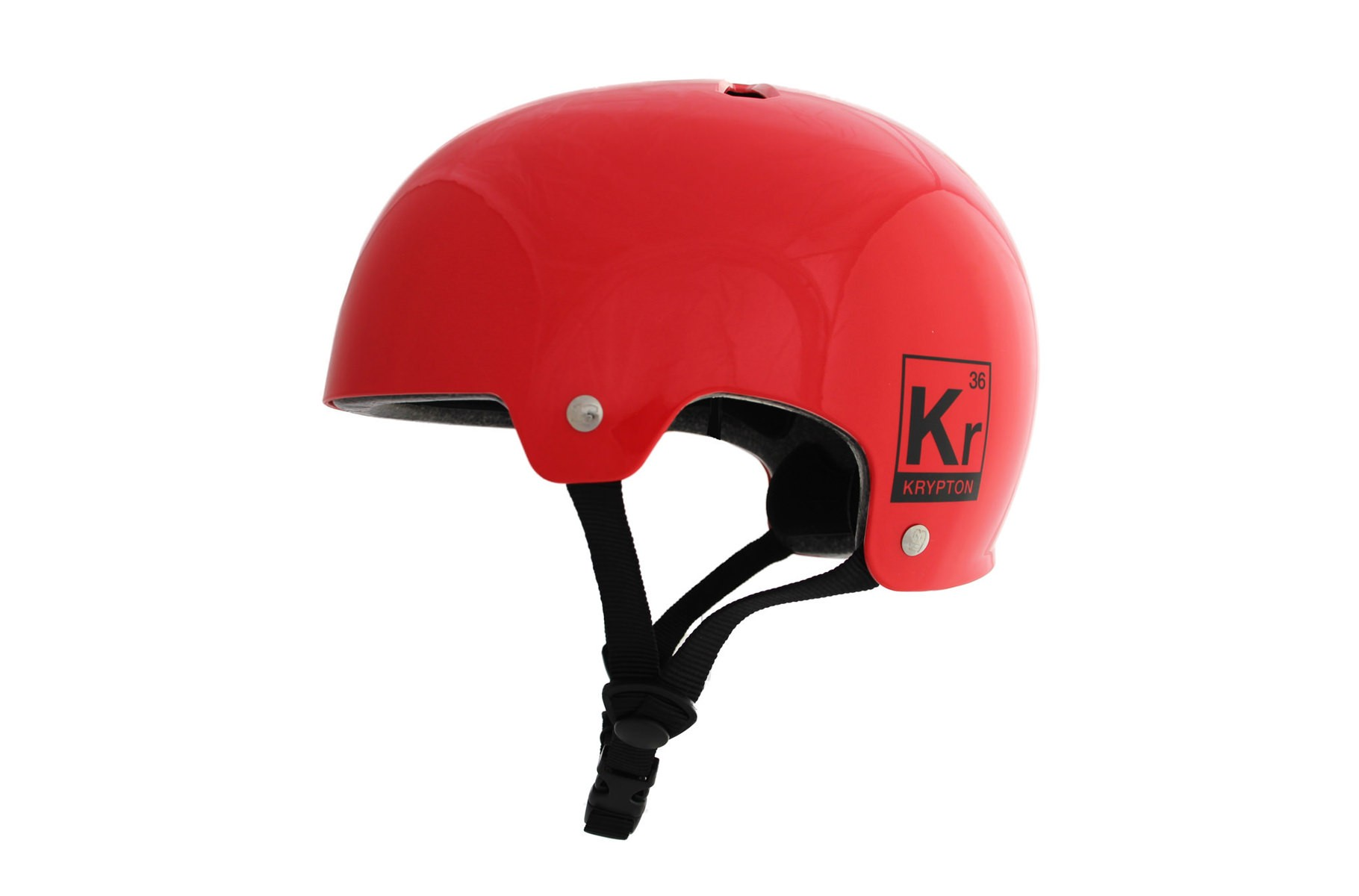 ALK13 Helmet Krypton Red Glossy