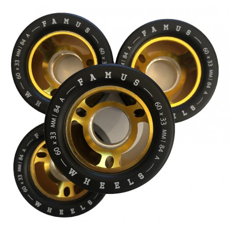 Famus Wheels Fantastic 60mmx33mm/84a