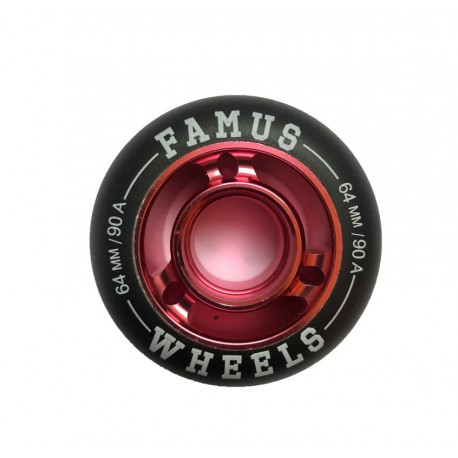 FAMUS WHEELS 64-90A GIRLY
