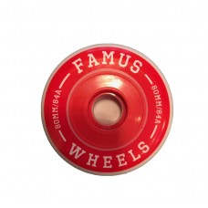 Famus Wheels 80mm/84A Freeride Full Core X 4 Red
