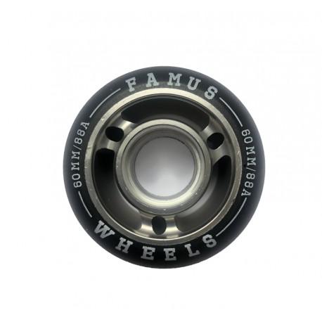 Famus Wheels 60mm/88A Black Grey