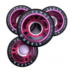 Famus Wheels 56mmx29mm|98a Pink