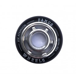"Famus Wheels "" Joe Atkinson"" 60mm/88A Silver"