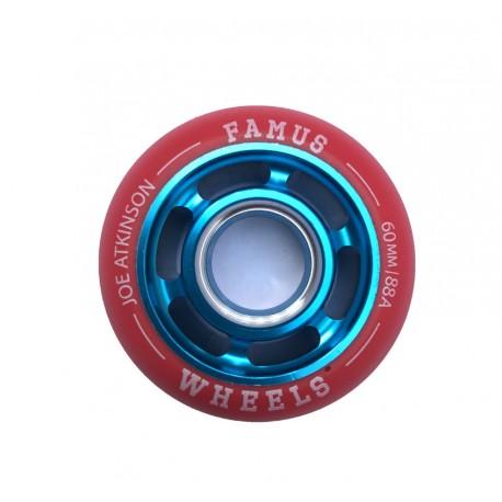 "Famus Wheels "" Joe Atkinson"" 60mm/88A Blue Red"