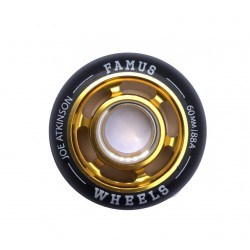 "Famus Wheels "" Joe Atkinson"" 60mm/88A Gold"