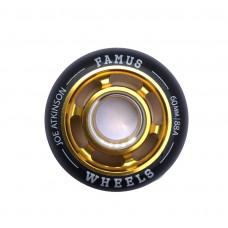 "Famus Wheels "" Joe Atkinson"" 60mm/88A Gold"