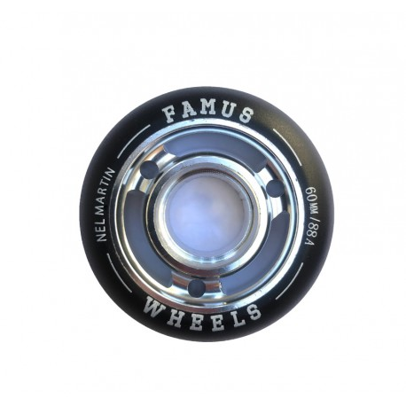 "Famus Wheels ""Nel Martin"" 60mm/88A Silver"