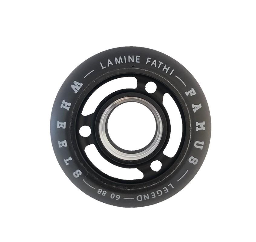 "FAMUS WHEELS LEGENDS ""LAMINE FATHI"" 60MM/88A BLACK"