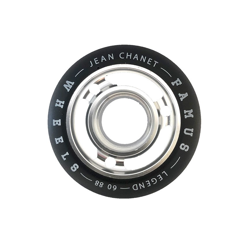 "FAMUS WHEELS LEGENDS ""JEAN CHANET"" 60MM/88A SILVER"