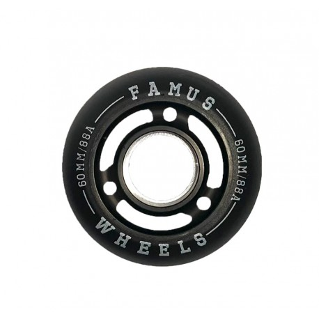 Famus Wheels 60mm/88A All Black