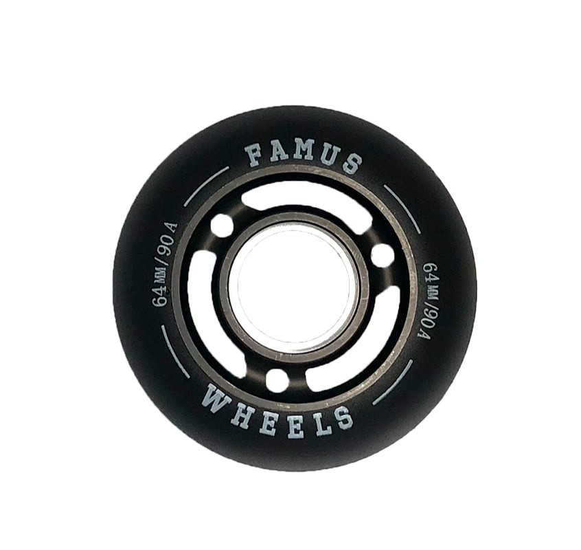 Famus Wheels 64mm/90A All Black