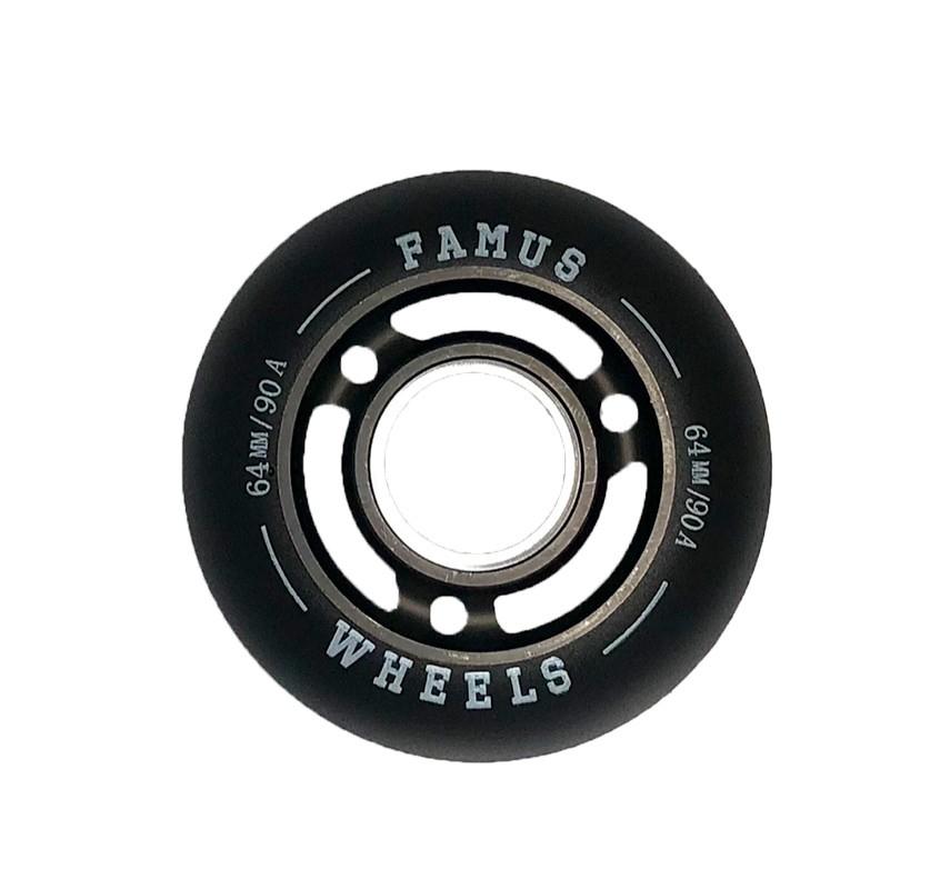 Famus Wheels 64mm/90A All Black