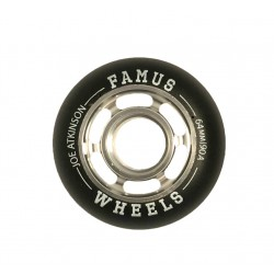 "Famus Wheels "" Joe Atkinson"" 64mm/90A Silver"