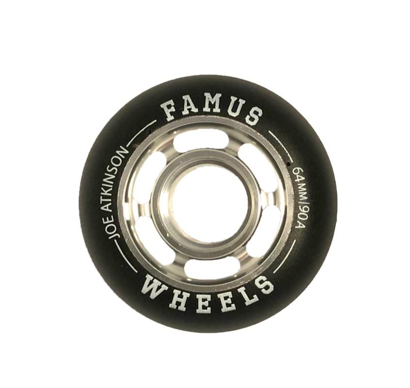"Famus Wheels "" Joe Atkinson"" 64mm/90A Silver"