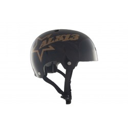 Casque KRYPTON Black Gold Glossy