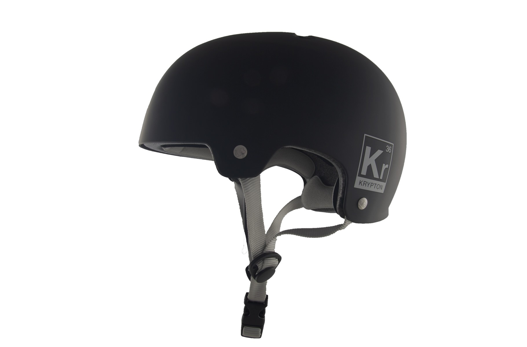Casque KRYPTON Black Mat
