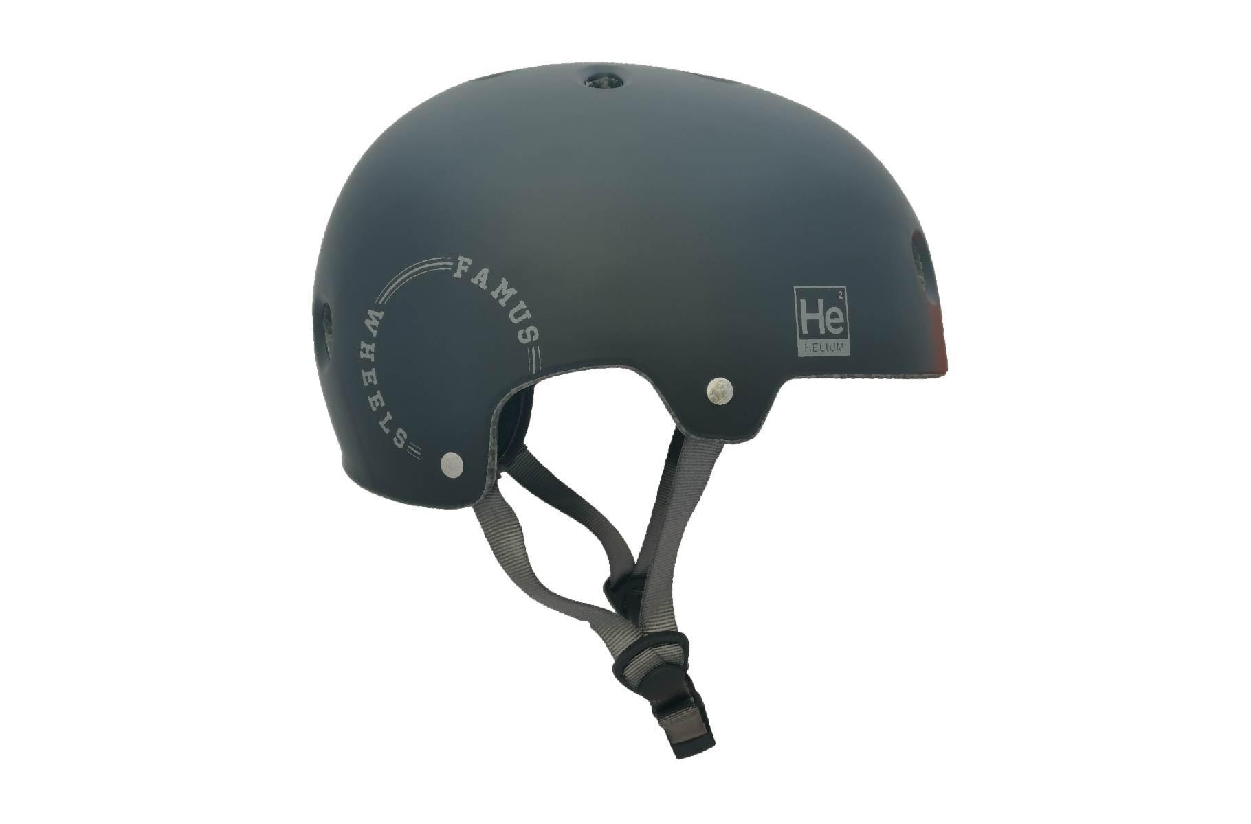 Casco Helium Black Grey / Famus Wheels