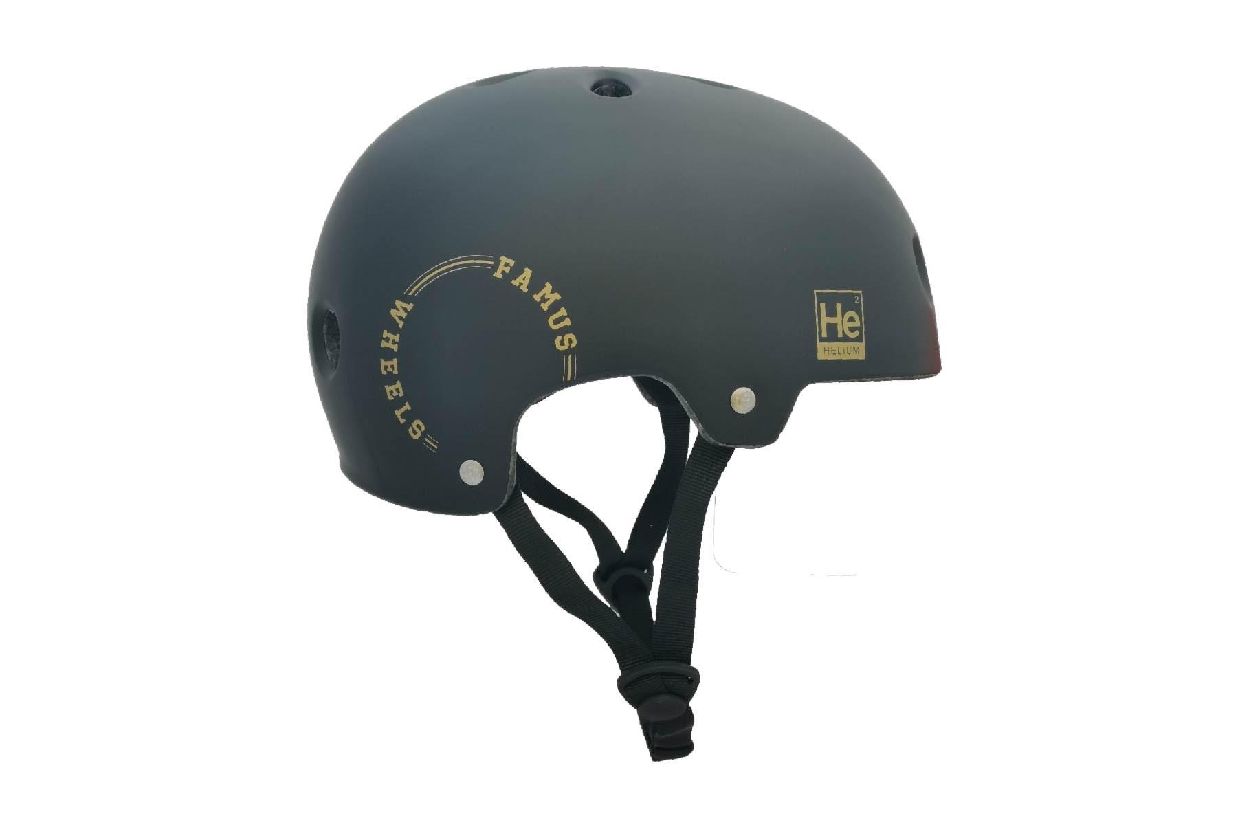 Casco Helium Black Gold / Famus Wheels