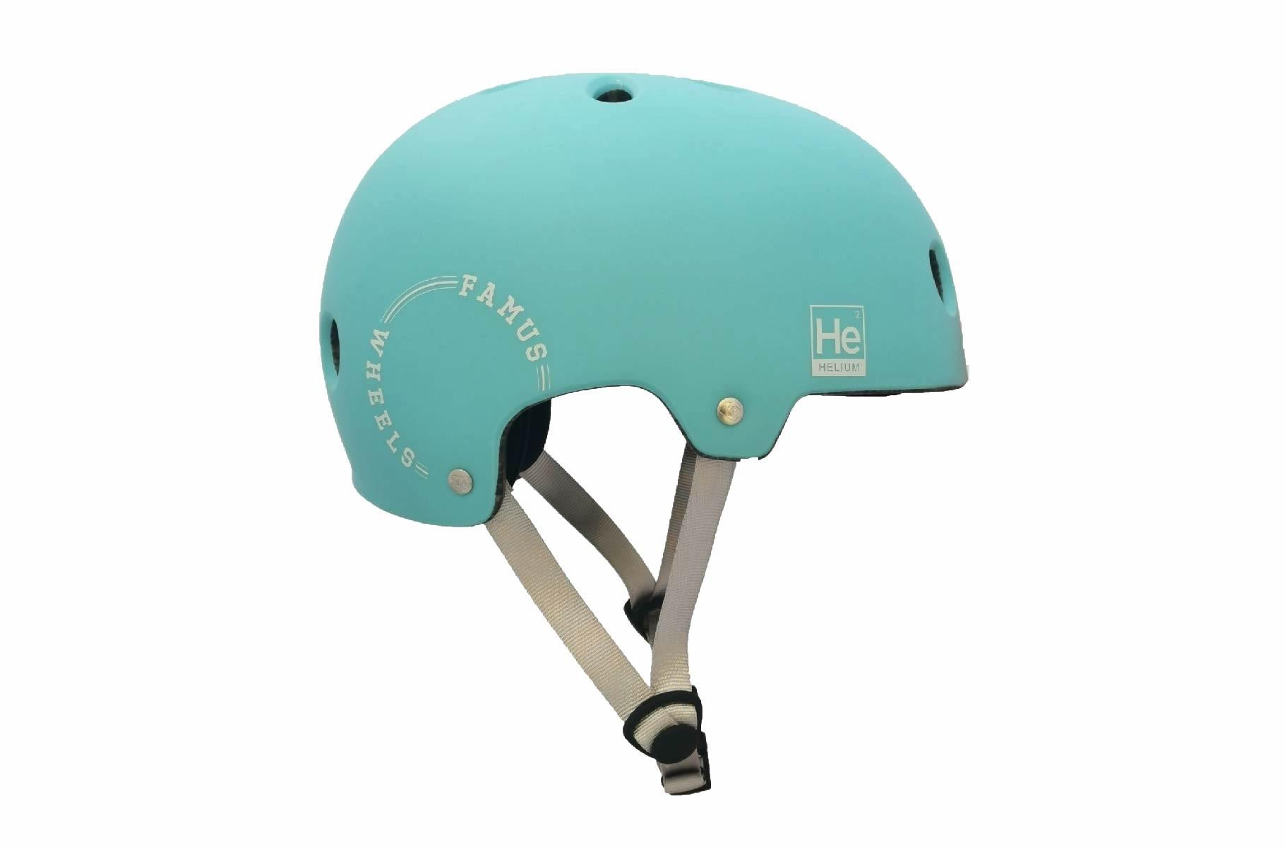 Casco Helium Blue Pastel / Famus Wheels