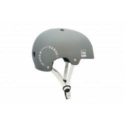 Casque Helium Grey White / Famus Wheels