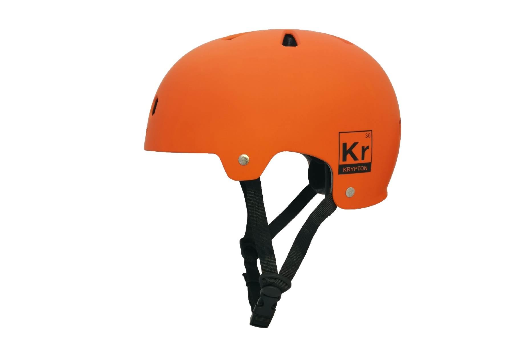 Casco Krypton Orange Black