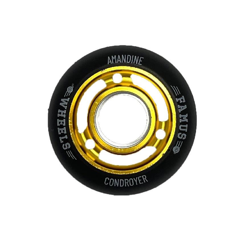 "Famus Wheels ""Amandine Condroyer"" 60mm/90A Gold"