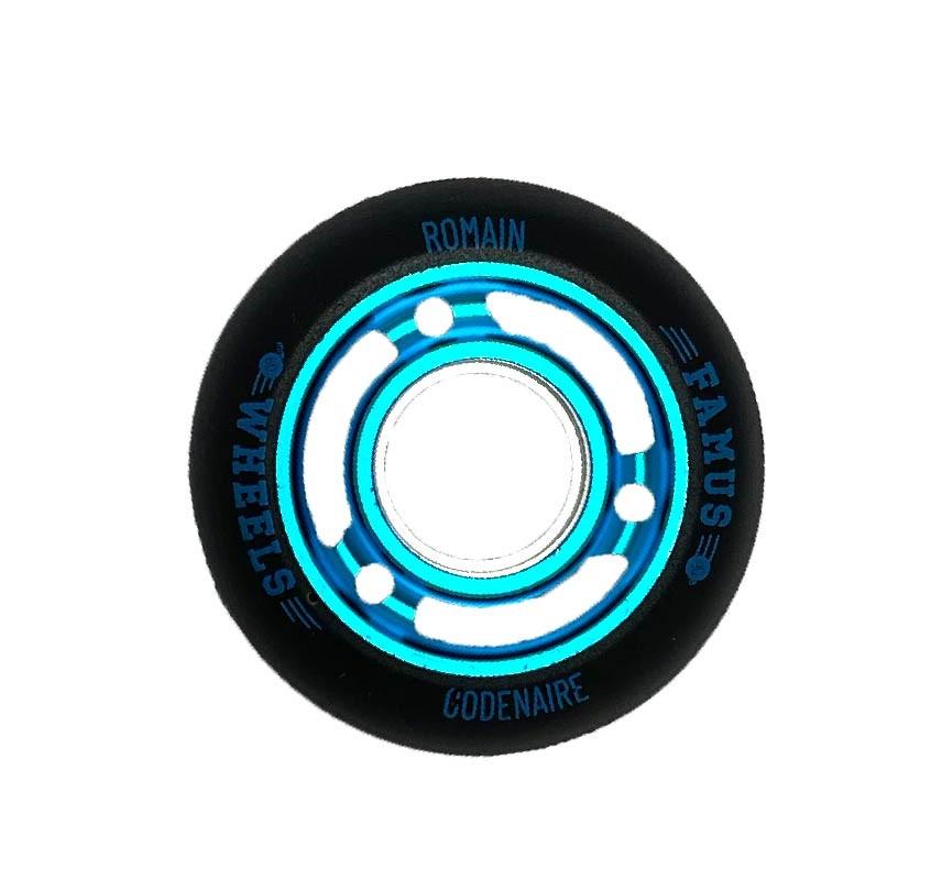 "Famus Wheels ""Romain Godenaire"" 60mm/90A Blue"