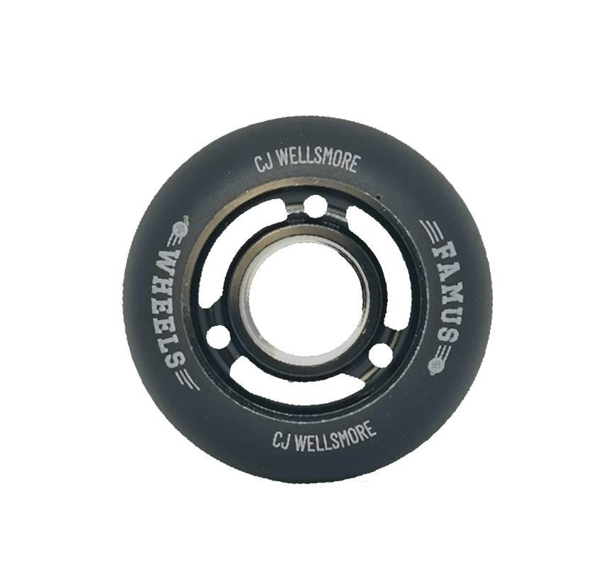 "Famus Wheels ""Cj Wellsmore"" 64mm/92A Black"