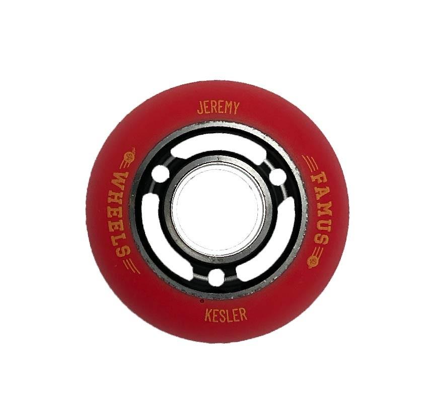 """Famus Wheels """"Jeremy Kesler"""" 64mm/92A Black"""
