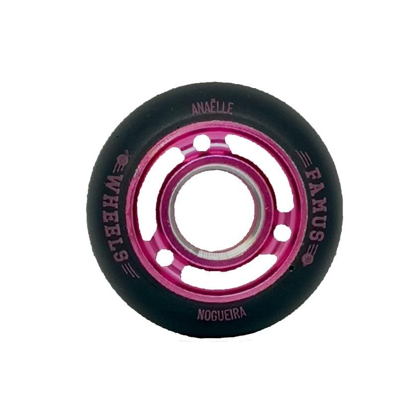 "Famus Wheels ""Anaëlle Nogueira"" 60mm/90A Pink"