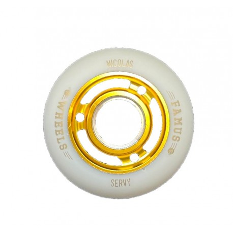"Famus Wheels ""Nicolas Servy"" 64mm/92A Gold"