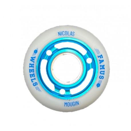 "Famus Wheels ""Nicolas Mougin"" 60mm/90A Blue"