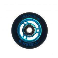 Famus Wheels 72mm/90A Blue Black