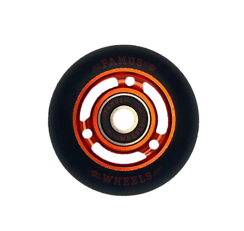 Famus Wheels 64mm/92A Red Black