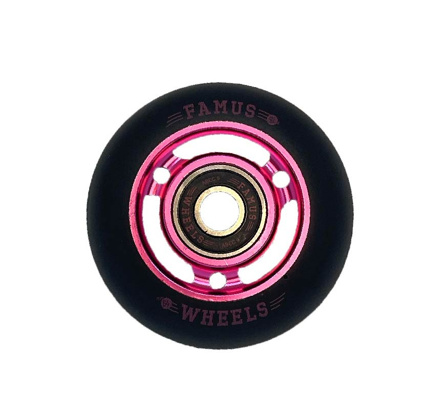 Famus Wheels 64mm/92A Pink Black