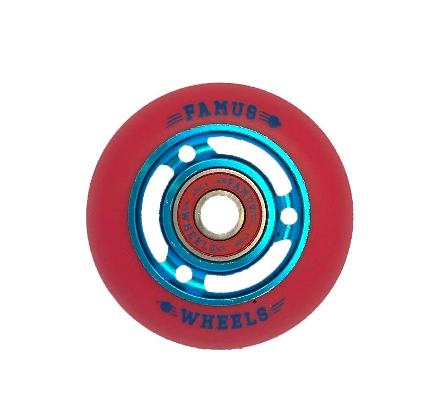Famus Wheels 64mm/92A Blue Red